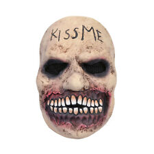 Scary Kiss Me Mask, Horror Zombie Scary Prop Adults for Halloween, Grimace Mask