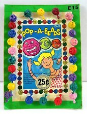 Monster Pop A Beads Charms Gumball Vending Machine Disp Card #94