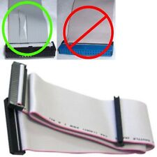 "30""/2.5ft long 2device FD/Floppy Dual Drive Flat Ribbon Cable/Cord/Wire 3.5""inch"
