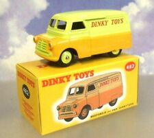 """NOREV/ATLAS EDITIONS DIECAST DINKY BEDFORD 10CWT VAN """"DINKY TOYS"""" YELLOW #482"""