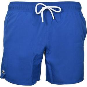 Lacoste Mens Classic Taffeta Swim Shorts Blue