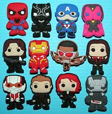Avengers Cake Decorations 12 Cupcake Toppers Hulk Ironman Wolverine Ultron NEW