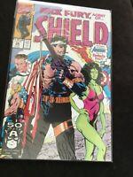 """NICK FURY, AGENT OF SHIELD"" # 26 (Aug, 1991) (Marvel Comics) f. the AVENGERS"