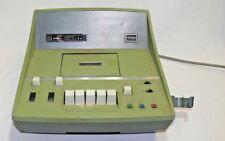 Vintage Crownscriber CDM-10 Crown Transcriber Recorder Cassette Dictation Player