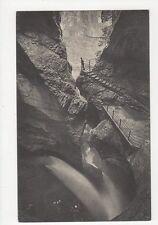 Lauterbrunnen Truemmelbach 5ter Fall Vintage Postcard Switzerland 0997