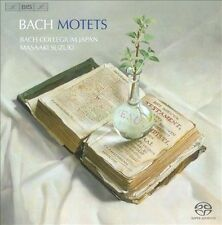 Johann Sebastian Bach: Motets Super Audio Hybrid CD (CD, Jan-2010, BIS (Sweden))