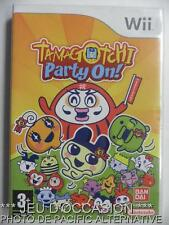 OCCASION incomplet Jeu TAMAGOTCHI PARTY ON ! nintendo WII game francais enfant