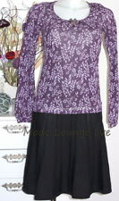Vive Maria Shirt Blouse Winter flowers S 36 violet purple lilay Modal
