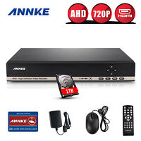 ANNKE 8CH HD 720P HDMI DVR Video Recorder for Home Security Camera System 1TB