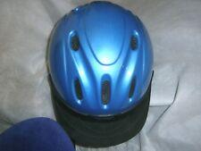 Equestrian riding helmet Troxel Med 6 3/4-6 7/8 SEI Periwinkle Blue L@@K