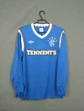 Rangers Champions Jersey 2011 2012 Long Sleeve M Shirt Umbro Football ig93
