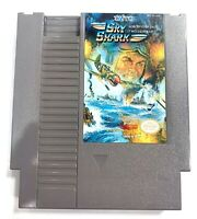 Sky Shark ORIGINAL NES Nintendo Game Tested + Working & Authentic!
