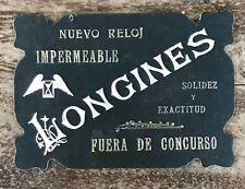 LONGINES Vintage 1950's Display Plaque Conquest Moonphase Heritage Master Diver