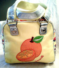 NEW Betseyville Summer Mania Satchel Yellow Purse Handbag Women Sale Orange Cute