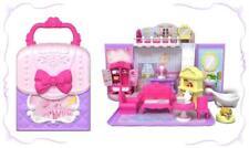 BBXW tragbares Puppehaus Handtasche Spielset Geschenk für ab 3 Jahre mit Puppe M