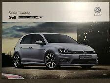 Catalogue Volkswagen Golf 7 série limitée Edition 40 NEUF