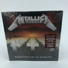 Metallica Master Of Puppets Audio CD Remastered Brand New Sealed