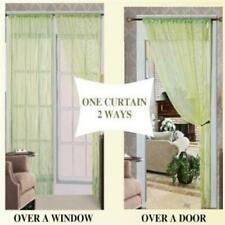 Thread 55 x 84 Curtain Panel Lime 100 Percent Polyester Made High Quality