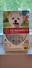 K9 Advantix Ii Flea Medicine Medium Dog 4 Month Supply Pack K-9 11-20 lbs New!
