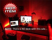 Gaming Computer Desk LED Lights --- Office / Home LIght - - Overnight Shipping H