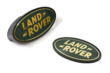 LAND ROVER DEFENDER 90 / 110 FRONT GRILLE & REAR OVAL BADGE SET GREEN MXC6402