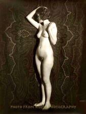 "Vintage Thin Nude Woman On Stage 8.5x11"" Photo Print, AC Johnson Photography Art"