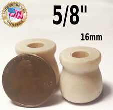 10 pcs 5/8 wooden CANDLE CUP crafts unfinished wood 16mm