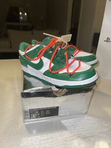 Size 10 - Nike Dunk Low x OFF-WHITE Pine Green 2019