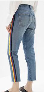 $228 Polo Ralph Lauren 27x28 Avery BoyJean Stripe Beacon 29 30 RRL Rugby Pride