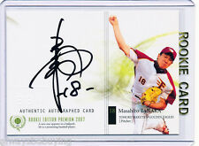 /70~BEST RC AU~MASAHIRO TANAKA 2007 BBM_Edition Premium_ROOKIE AUTO CARD~07~HERO