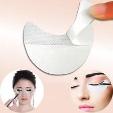 10Pcs Pro White Lip Eye Shadow Shield Cover Mascara Eyelash Pad Application Tool