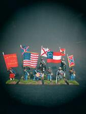 28mm Fahnen & bemalte Figuren American Civil War Gettysburg *Update 11.01.2021*