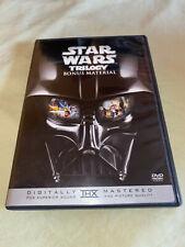 Star Wars Trilogy Bonus Material Dvd Documentary Sci Fi Movie