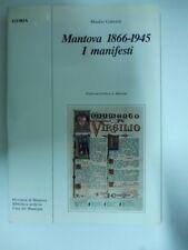 GABRIELI Manlio, Mantova 1866-1945. I manifesti