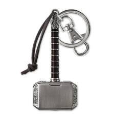 Thor Hammer Keychain Gray