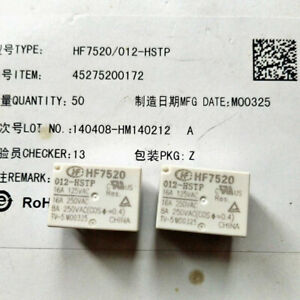 HONGFA HF7520-012-HSTP Power Relay 12VDC 4Pin 16A 125VAC