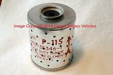 Willys MB M38 M38A1 M37 Ford GPW Oil Filter Element Military NOS.