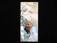 1974 Houston Oilers NFL Media Guide