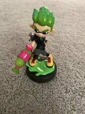 Nintendo Splatoon Amiibo Squid Green Inkling Boy