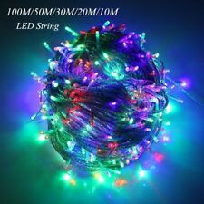 LED String Fairy Light Christmas Winter Holiday Decor Waterproof Outdoor Garland