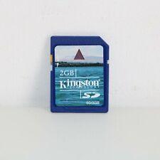 KINGSTON 2GB MEMORY CARD SD DIGITAL FULL SIZE
