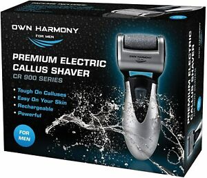 Electric Hard Skin Remover For Men by Own Harmony: USA's Best Rated Callus Tool