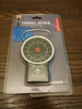 Kikkerland Travel Luggage Scale with Tape Measure BRAND NEW