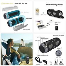 Avantree WP400 Portable Wireless Bike Speaker with Bicycle Mount SD Card Slot, 1