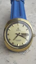 OMEGA mod. SEAMASTER COSMIC DAY DATE 166035 cal.752 gold filled two tone dial