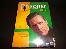 THE PRISONER SET 2-Patrick McGoohan is subjected to drug experiments-British TV