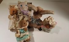 Eden Beatrix Potter Lot of 5 Plush Peter Rabbit CUTE!