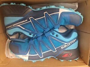 Salomon Womens Speedcross Vario 2 Trail Running Shoes Sports Trainers 5.5 38.5