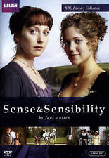 Sense  Sensibility/Miss Austen Regrets (DVD, 2015, 2-Disc Set) Jane Austen 46A