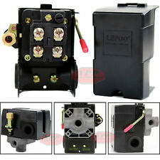 Air Compressor Pressure Switch Control Valve 145-175 PSI Electric On / Off